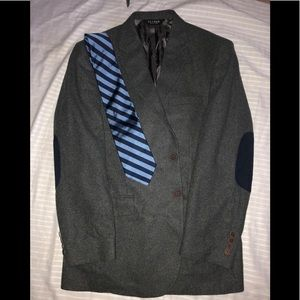 Jos A Banks Grey Sport coat with elbow pads